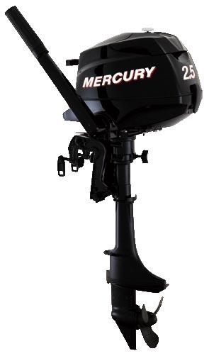 2.5PK Mercury viertakt buitenboordmotor