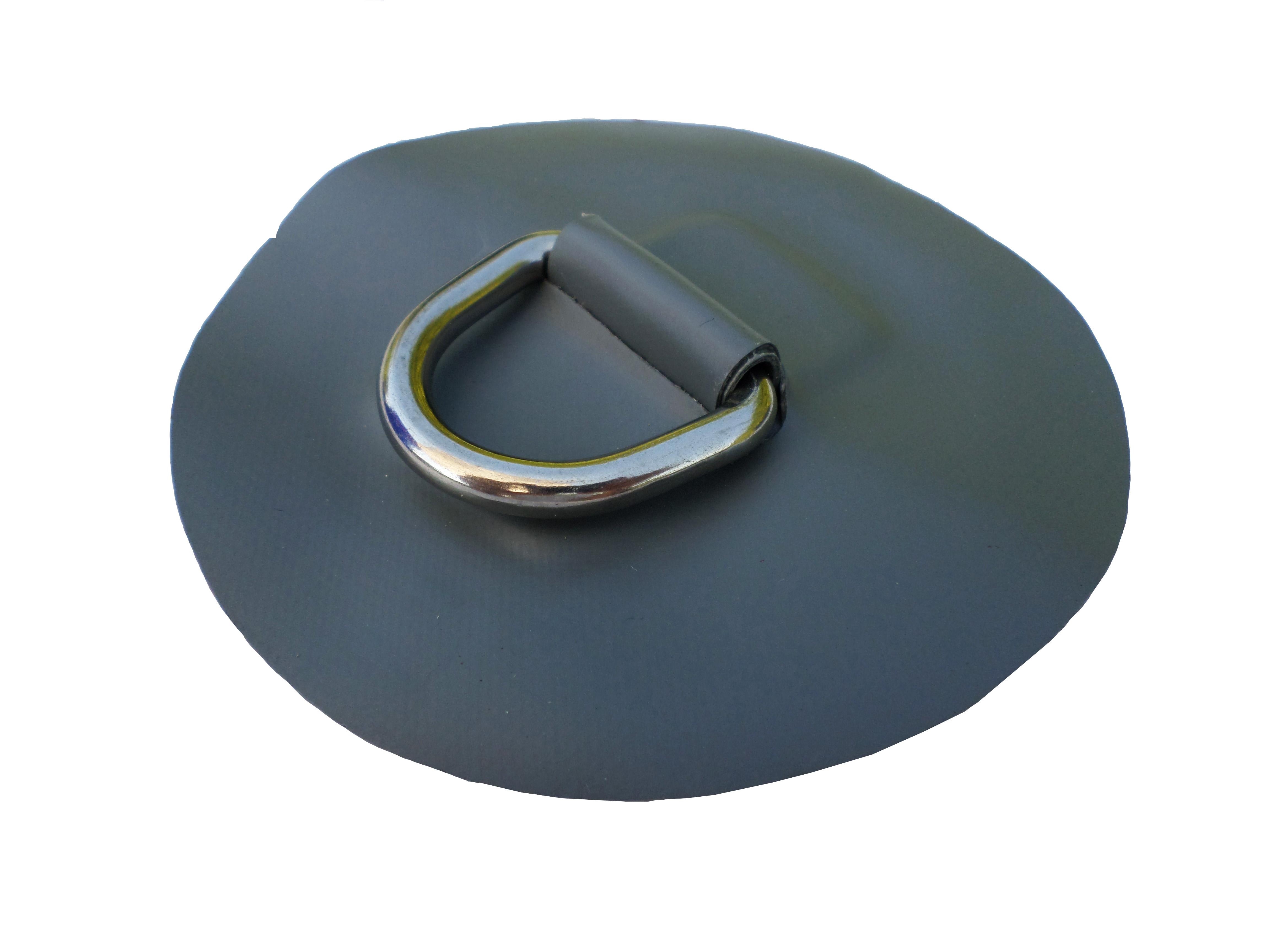 DeBo Rubberboot Hijsoog (D-Ring – RVS) Grijs