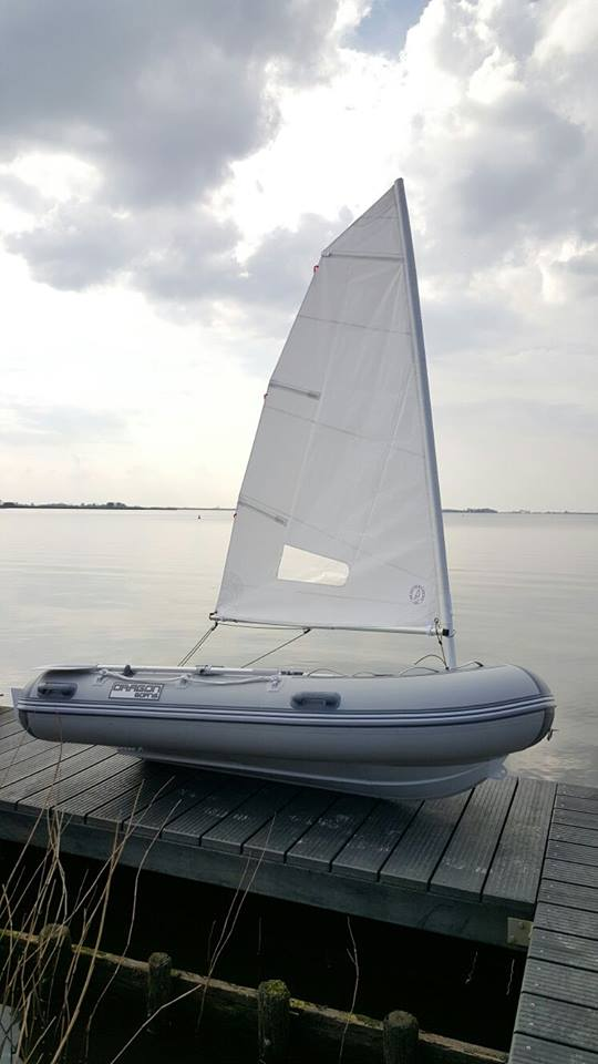 Aluminium Opvouwbare RIB Zeilboot
