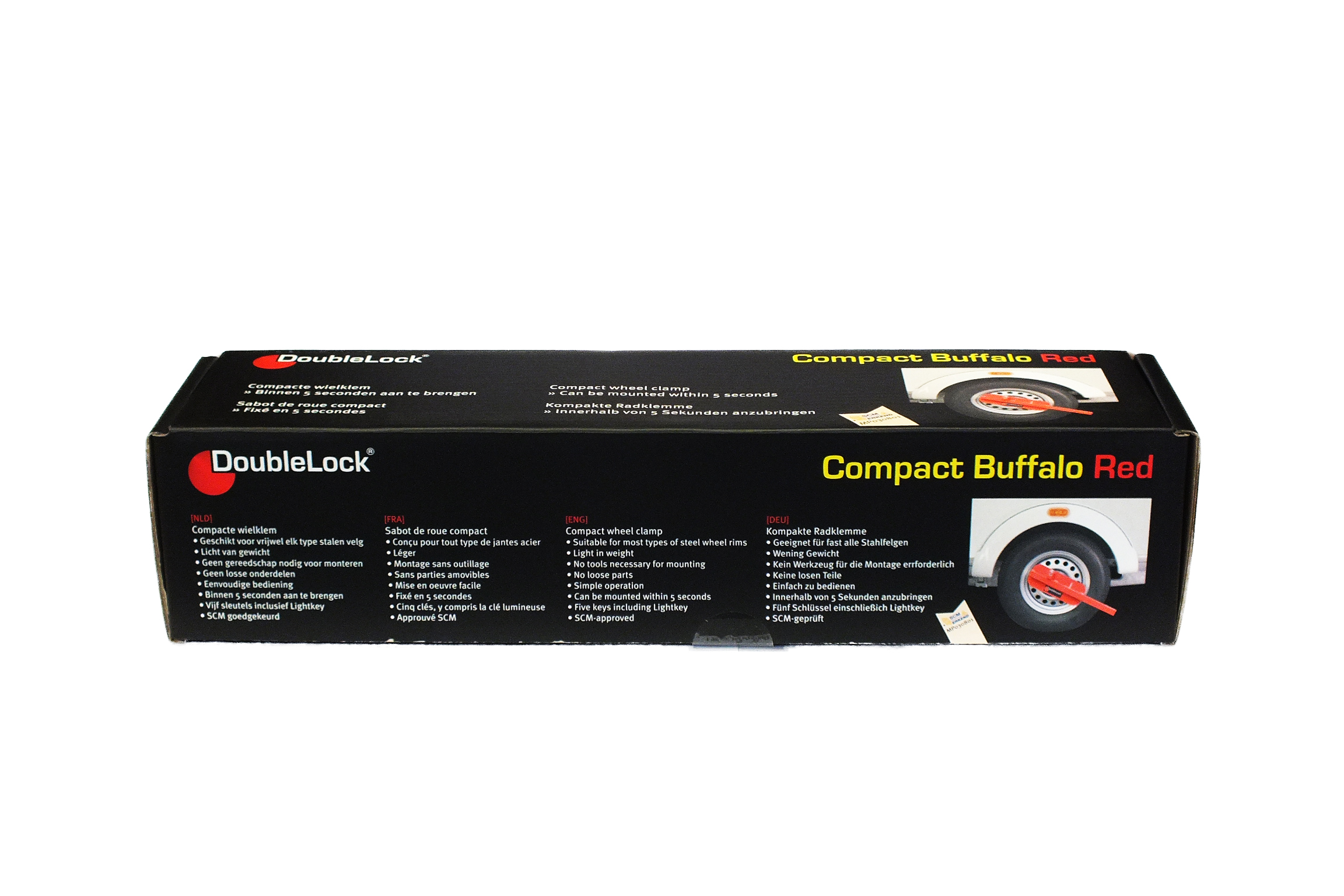 DoubleLock Compact Buffalo RED SCM