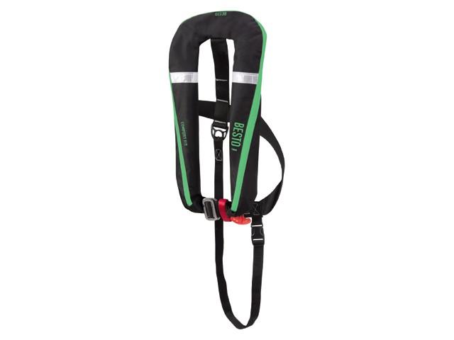 Besto Comfort Fit 165N Zwart Groen