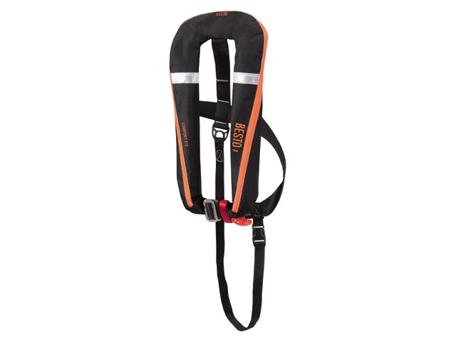 Besto Comfort Fit 165N Zwart Oranje