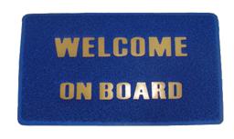 Voetmat Welcome on Board
