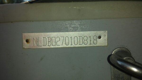 DeBo DB270 Groen met Aluminium Vloer
