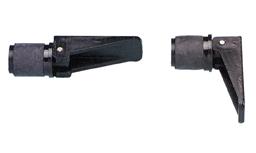 Knelplug Ø22mm voor Loospijp 001421 / 001422, Zwart