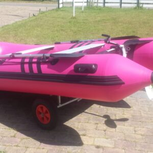 Roze Rubberboot DB330ALU