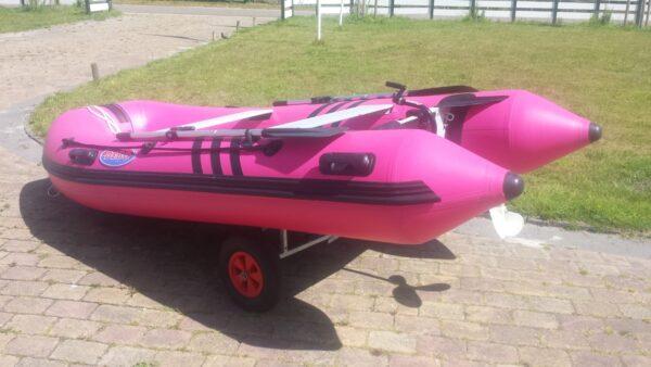 Roze Rubberboot DB330ALU