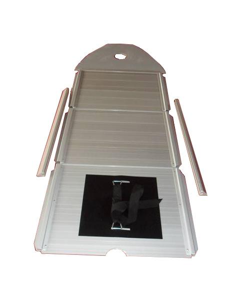 Aluminium Vloer Rubberboot
