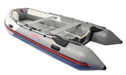 DeBo rubberboot grijs wit