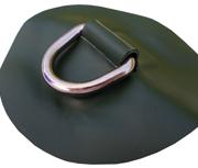 DeBo Rubberboot Hijsoog (D-Ring – RVS) Groen