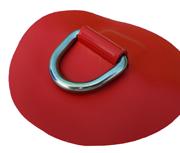 DeBo Rubberboot Hijsoog (D-Ring – RVS) Rood